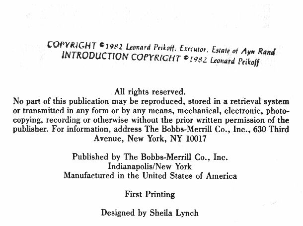Absence Of Copyright Notice Illustrations